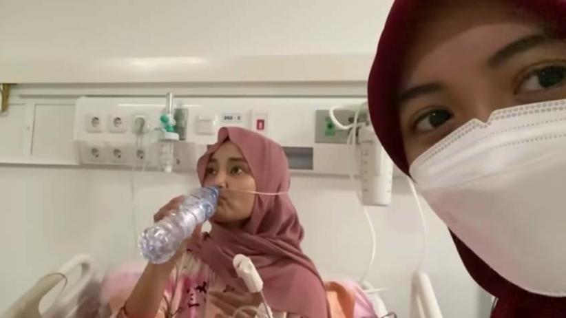Positif Covid-19, Fatin Shidqia dan Arafah Rianti Sedih Lebaran di Wisma Atlet