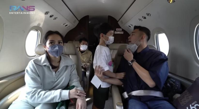 Ada Pembatasan Mudik, Raffi Ahmad Pergi ke Malang Pakai Jet Pribadi