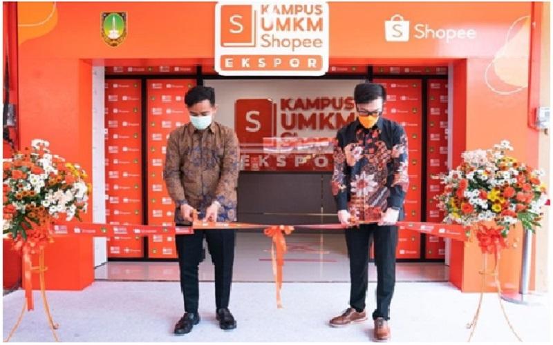 Menuju 10.000 Eksportir Baru Asal Surakarta, Shopee dan Gibran Rakabuming Resmikan 'Kampus UMKM Shopee Ekspor'