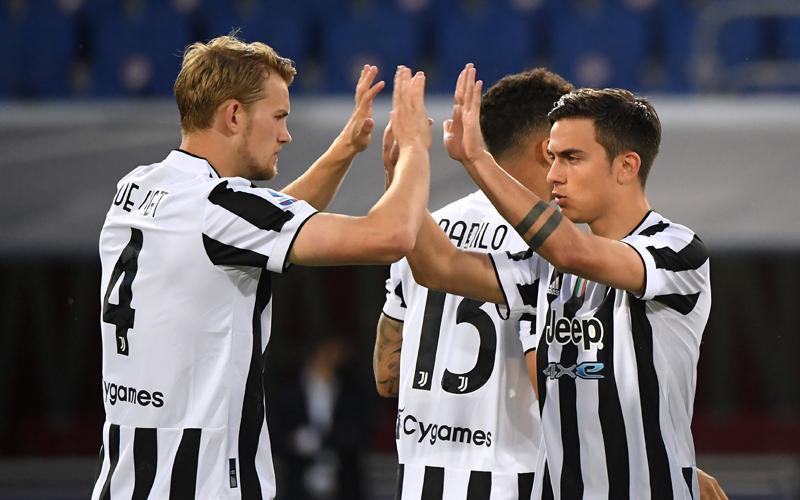 Ronaldo Cadangan, Juventus Bantai Bologna dan Lolos Liga Champions