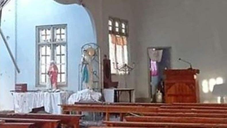Bertempur dengan Kelompok Etnis, Pasukan Myanmar Serang Gereja, 4 Orang Tewas