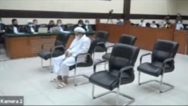 Habib Rizieq Shihab Hadapi Sidang Vonis Perkara RS Ummi Bogor