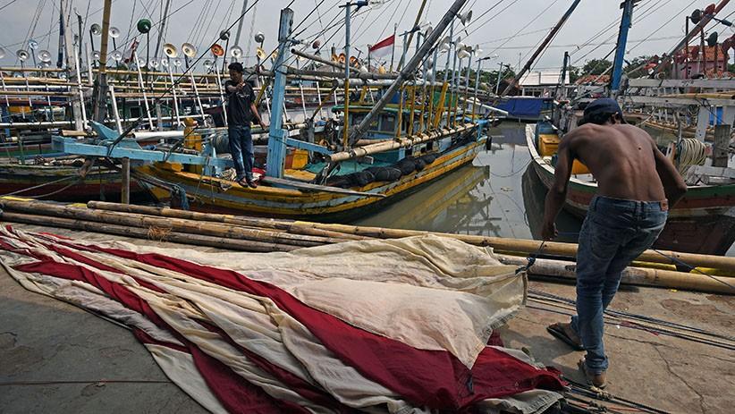 Jermal Rusak Ditabrak Kapal, Nelayan Kalbar Tuntut Ganti Rugi Pengusaha