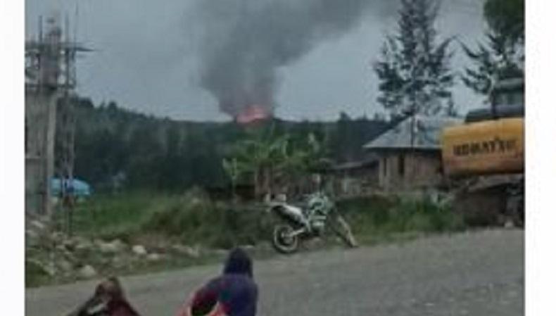 KKB Kuasai Bandara Ilaga Papua usai Baku Tembak dengan TNI-Polri