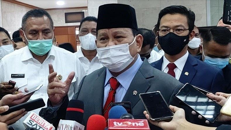 Jarang Tampil di Publik, Prabowo: Unsur Pertahanan Sangat Rahasia