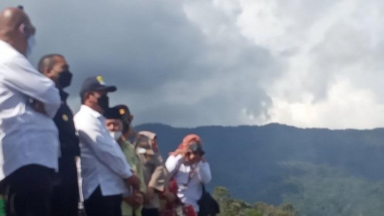 Menteri KP Ajak Petani KJA Danau Maninjau Budi Daya Ikan Air Tenang