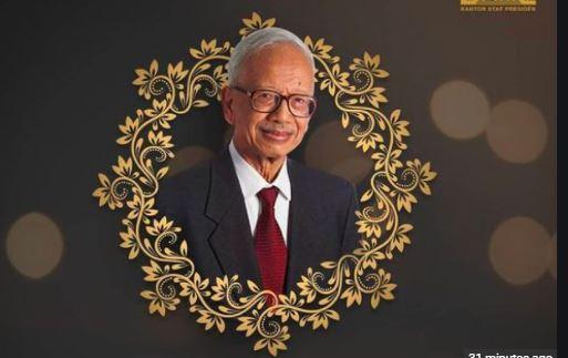 Mantan Menlu pada Era Soeharto, Mochtar Kusumaatmadja Meninggal Dunia