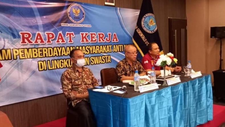 Gandeng BNN, Disnakertrans Terbitkan AK1 di Gorontalo Utara Melewati Skrinning Narkoba