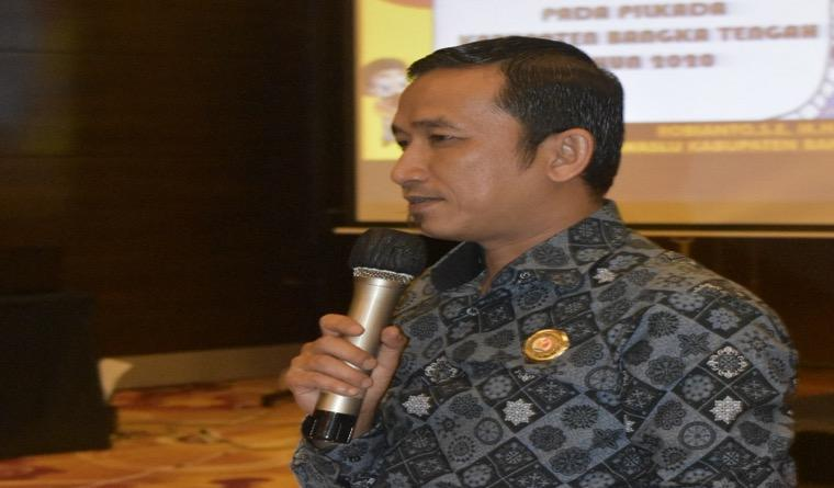 Bangka Tengah Jadi Pusat Sekolah Kader Pengawasan Partisipatif