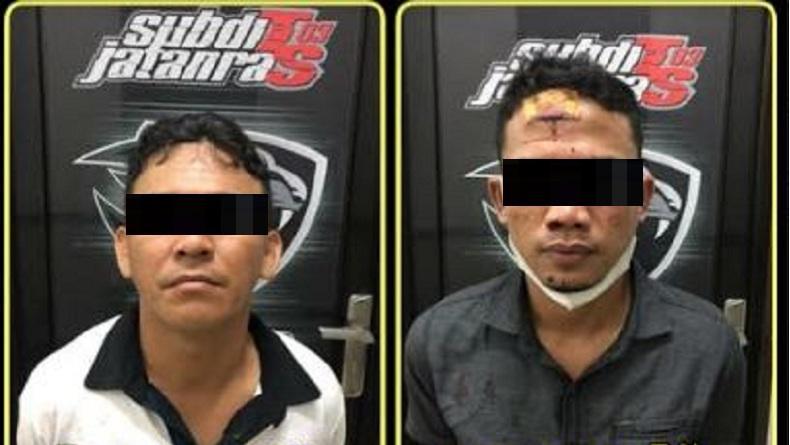 Polisi Tangkap 4 Begal Suami Istri yang sebabkan Korban Patah Tulang Selangka di Batam