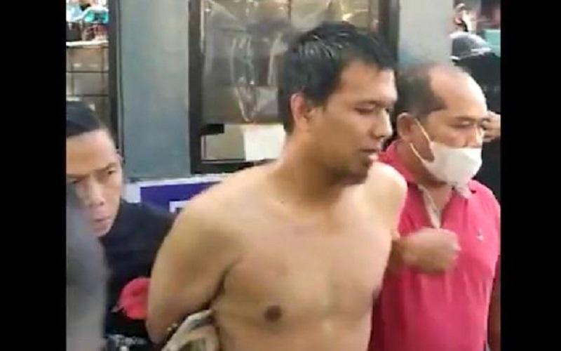 Tidak Gila, Pria Penikam Polisi di Palembang Dijerat Pasal Berlapis