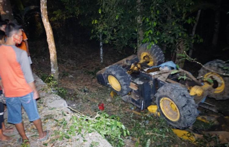 Alat Berat Terguling di Kulonprogo, Driver Terjepit Kabin