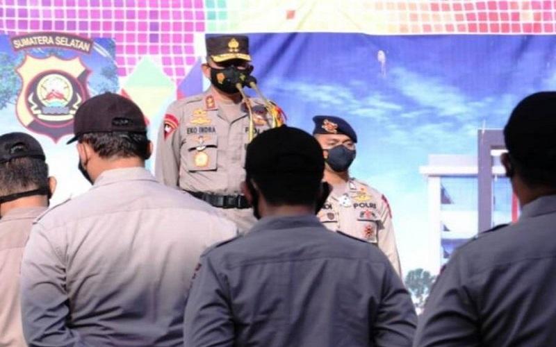 Aktif Selama PPKM, 24 Polisi di Sumsel Terima Penghargaan