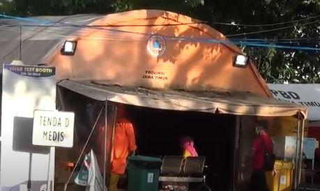 25 Orang di Surabaya Diduga Terpapar Covid-19 Varian Baru, RS Lapangan Dibanjiri Pasien