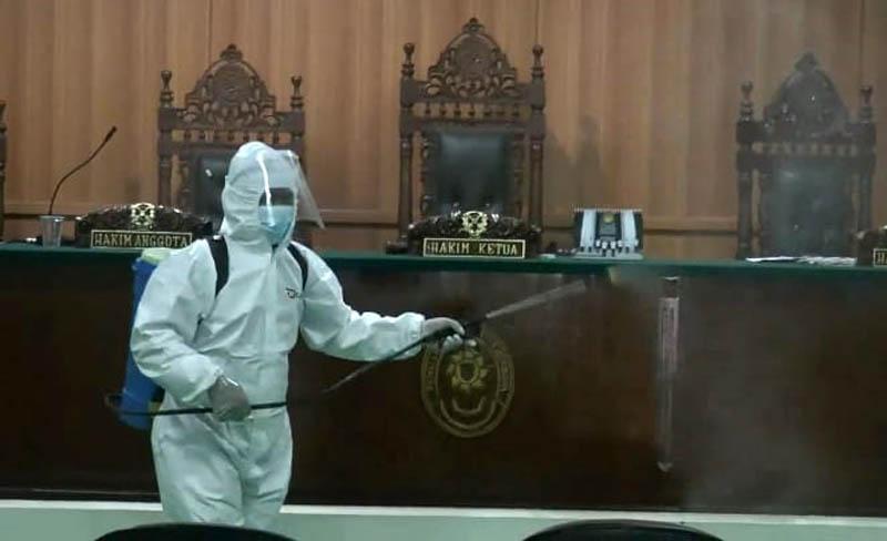 Dua Pegawai Terpapar Covid-19, Kantor Pengadilan Agama Jepara Ditutup Sementara