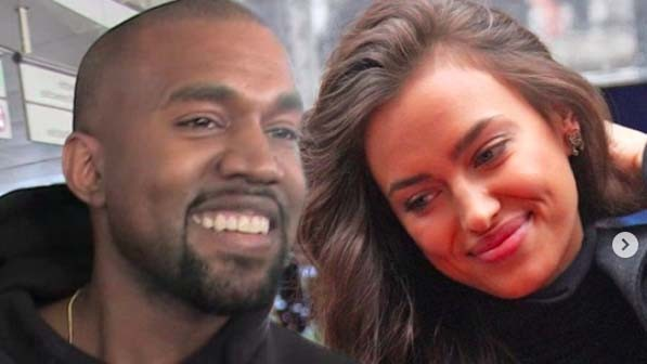 Belum Resmi Cerai Kanye West Pamer Kemesraan Dengan Irina Shayk Di Prancis