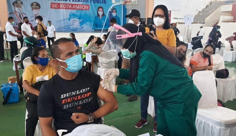 Vaksinasi Lansia di Ambon Baru 41,47 Persen, Sasaran Diperluas