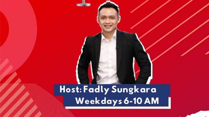 Penyiar Favorit Fadly Sungkara Kembali Beraksi di MNC Trijaya FM