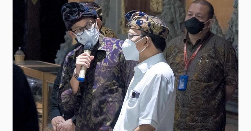 Vaksinasi Covid-19 Capai 3 Juta Dosis, Sandiaga Uno Sebut Pariwisata Bali Siap Dibuka