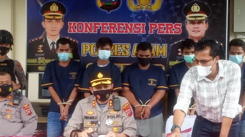 Mencuri di 12 Lokasi, Mantan Anggota Satpol PP di Agam Ditangkap Polisi