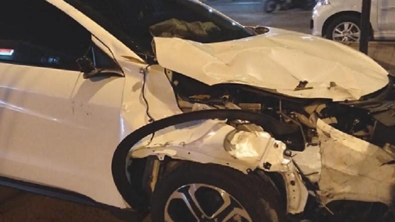 Tabrakan Beruntun Dua Mobil dan Tiga Motor di Jalan Pasar Kranggan, Empat Orang Kritis