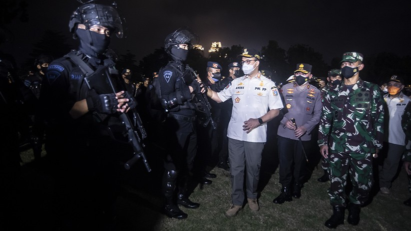Pangdam Jaya, Kapolda dan Kajati DKI Rapat Tertutup dengan Anies, Wagub: Bahas Covid