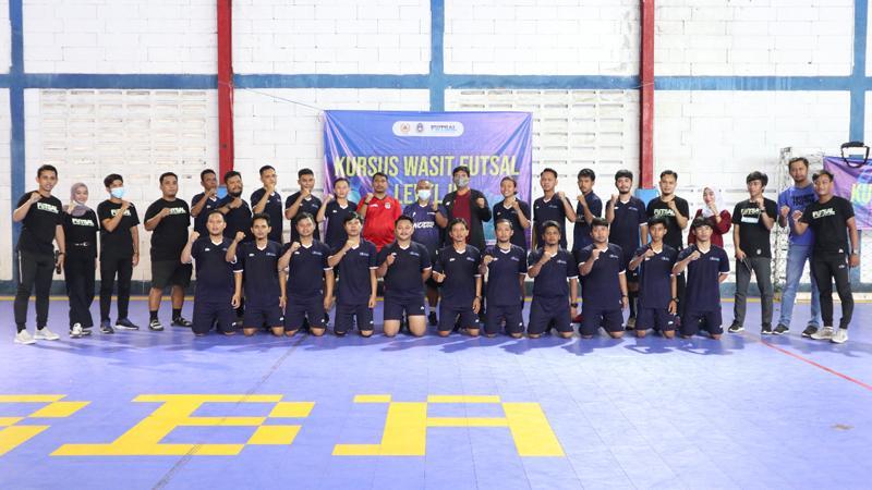 Majukan Futsal Banten, Kursus Wasit Level 2 Dibuka di Kota Serang