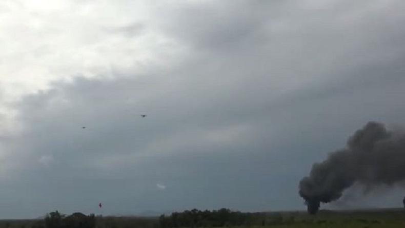 Hebat, Jet Tempur Satuan Elite TNI AU Ini Hancurkan Target Sasaran dengan Tepat