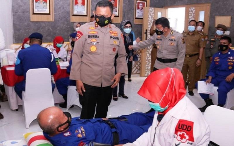 Selama Pandemi Kebutuhan Darah di Palembang Meningkat, Ini yang Dilakukan Polda Sumsel