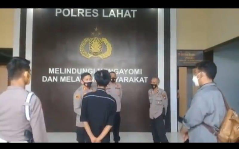 Bripda AH, Polisi di Lahat yang Todongkan Pistol ke Anak - Anak Dijatuhi Sanksi