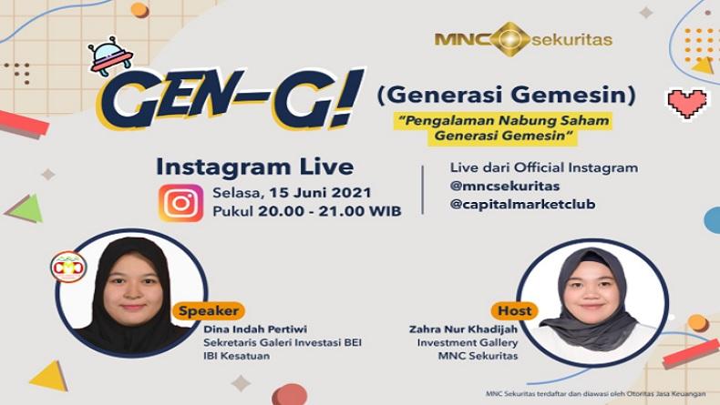 Sharing is Caring: Simak Pengalaman Investor Milenial Menabung Saham di IG Live MNC Sekuritas Pukul 20.00 Ini