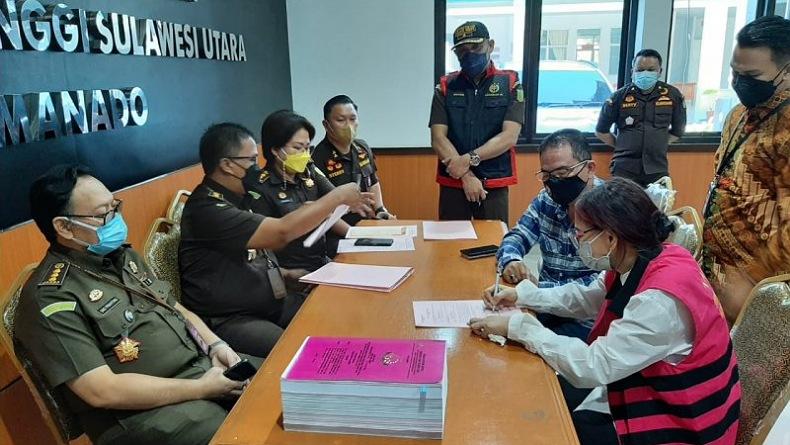 Vonnie Panambunan, Mantan Bupati Minut Ditahan 20 Hari Kasus Korupsi Pemecah Ombak