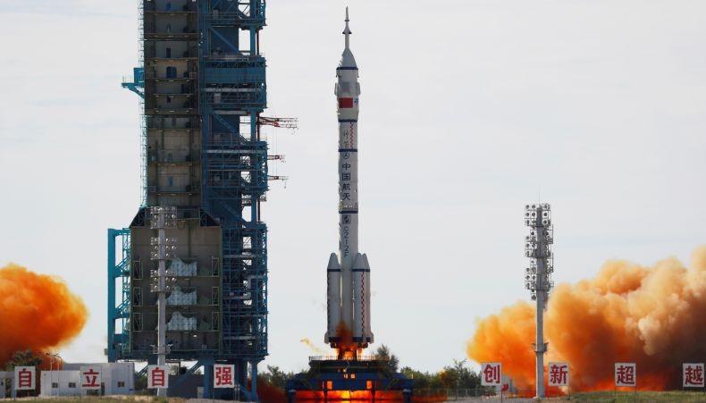China Kirim 3 Astronot ke Stasiun Luar Angkasa yang Masih Dibangun