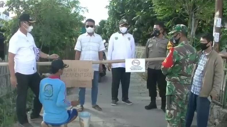 Covid-19 Merambah Perdesaan di Subang, Desa Sukamaju Lockdown akibat 30 Warga Positif