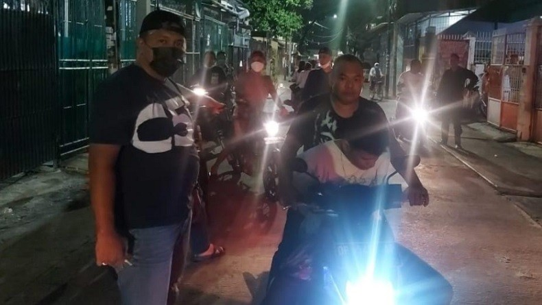 Terlibat Perampasan dan Penganiayaan, Geng Motor Ditangkap di Taman Sari