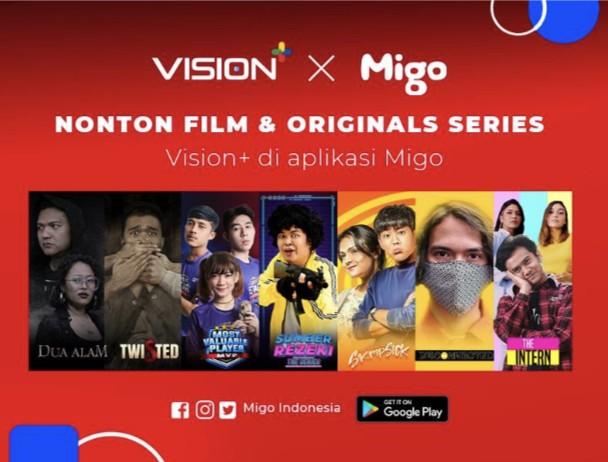 Nonton Pilihan Film dan Originals Series Vision+ Kini Bisa Melalui Aplikasi Migo