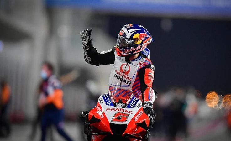 Hasil Latihan Bebas 2 MotoGP San Marino 2021: Dikuasai Ducati, Marquez Posisi 5