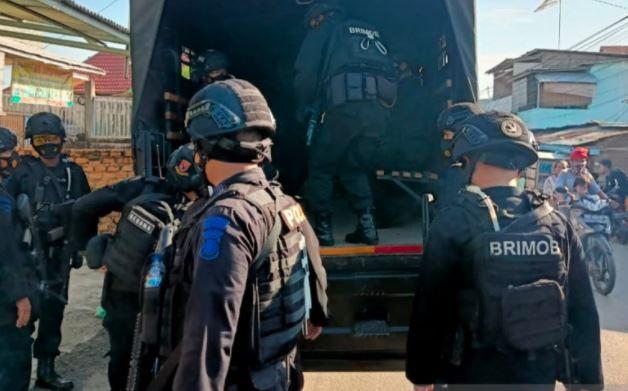 Sejumlah Kampung Narkoba di Palembang Digerebek, 6 Orang Ditangkap
