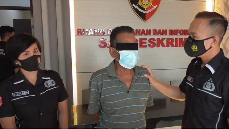 Ayah Bejat di Medan Tega Cabuli Anak Tiri selama 4 Tahun sejak Masih SD