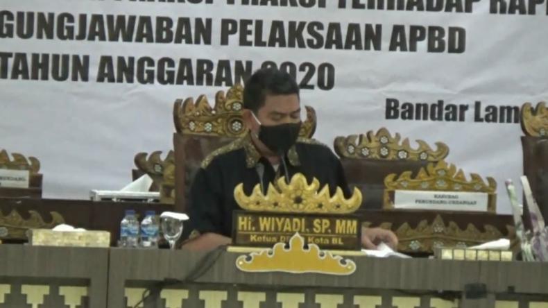 29 Anggota Dewan Tolak Wiyadi Pimpin Sidang, Paripurna DPRD Bandarlampung Ditunda