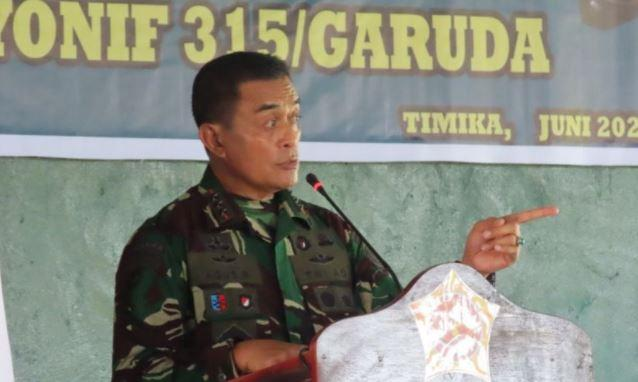 Pangkogabwilhan Minta Pasukan Garuda di Papua Tidak Sembarang Umbar Tembakan
