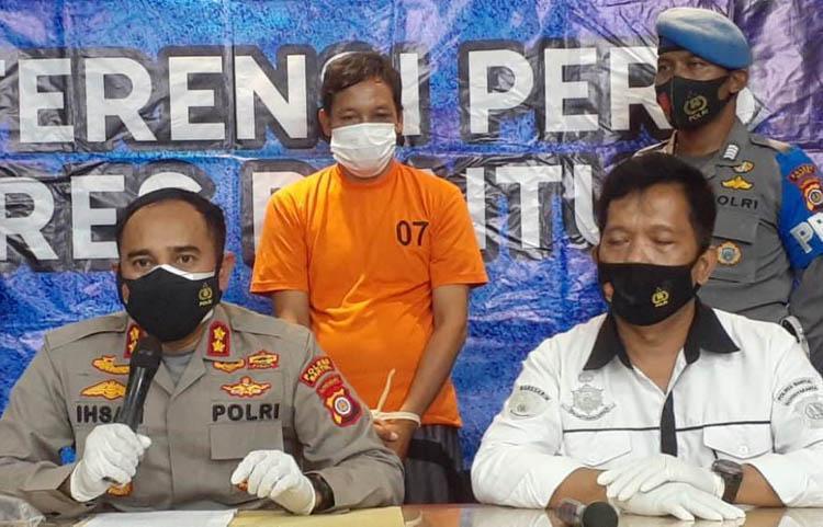 Terjaring Tak Pakai Masker di Pasar, Warga Kulonprogo Tinju Polisi