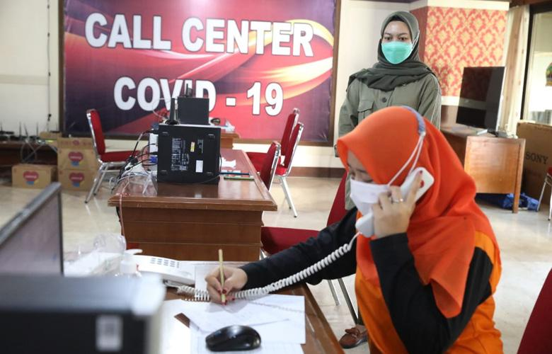 Call Center Covid-19, 24 Jam Layani Keluhan Masyarakat selama Pandemi