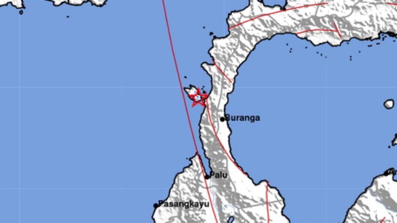 Gempa M 2 7 Guncang Donggala Berpusat Di Darat Bagian 1