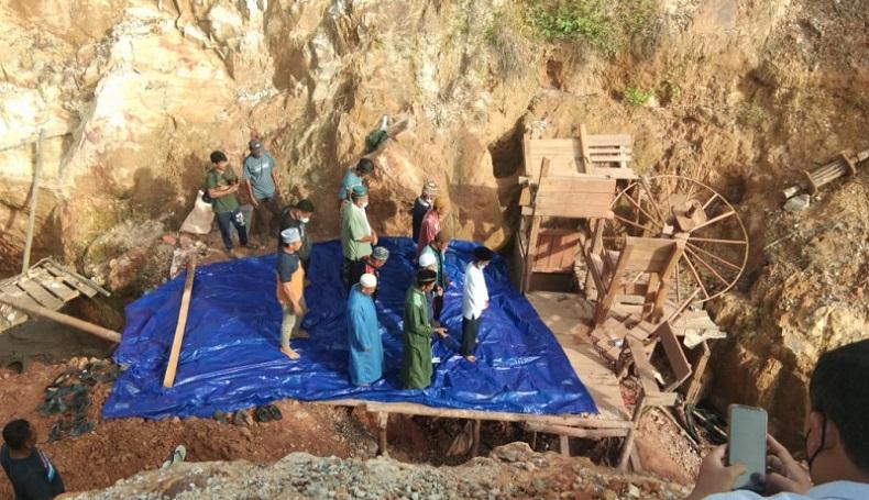 Tim SAR Hentikan Pencarian 2 Penambang Timah yang terjebak di Kedalaman 28 Meter