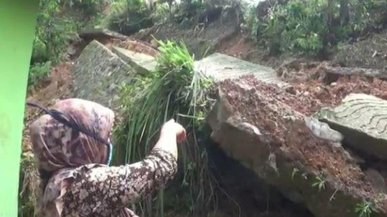 BPBD Imbau Warga Banjarnegara Waspadai Bencana Tanah Longsor