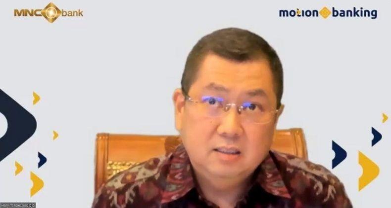Hary Tanoesoedibjo Komitmen Buat MotionBanking Jadi Bank Digital Terbesar di Indonesia