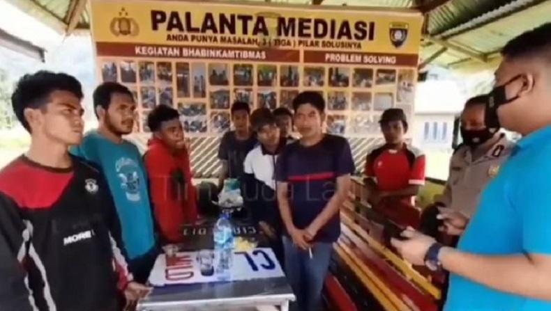Ditipu Mandor, 8 Pemuda Jalan Kaki 3 Hari dari Ujung Bengkulu ke Polsek Bungus