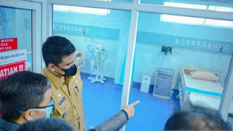 BOR RS Covid-19 di Medan Dekati 70 Persen, Bobby Nasution: Tingkat Kesembuhan Turun