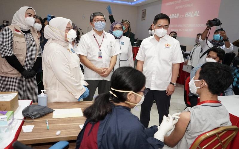 Kadin Indonesia Dorong Percepatan Vaksinasi dan Bangun RS Darurat agar Ekonomi Pulih